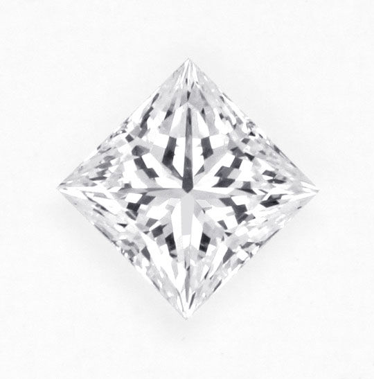 Princess Schliff, Prinzess Cut Diamond, Profile Cut