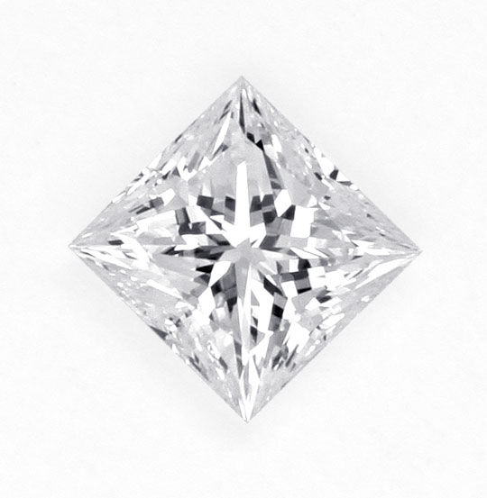 Princessschliff, Prinzess Cut Diamond, Profile Cut