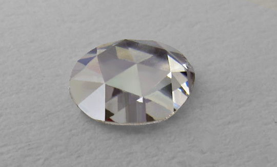 Diamant Rosen-Schliff, Rose-Cut Diamond, Ansicht 1