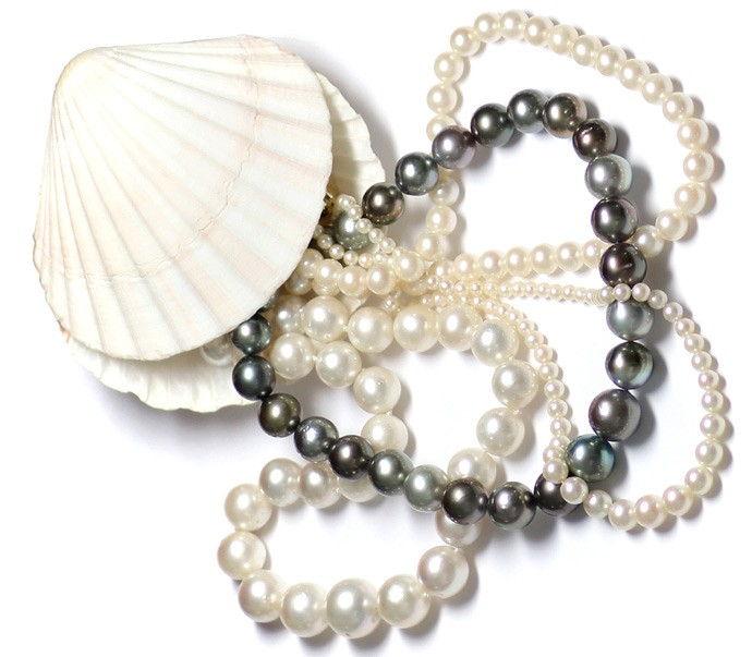 Tahiti Südsee Akoya Süsswasser Perlen: Echtheit und Faelschungen